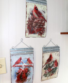 Cardinal wall hangings
